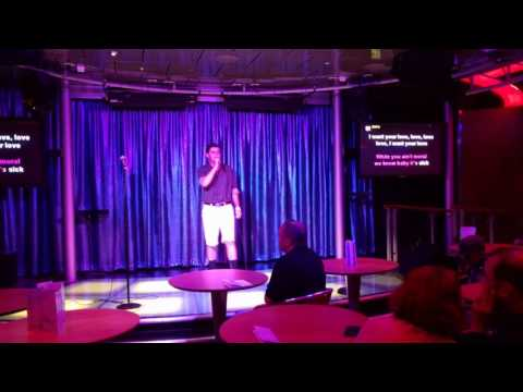 Bad Romance karaoke Royal Caribbean Allure of the Seas