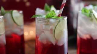 Drink Recipes - How To Make Cranberry Punch