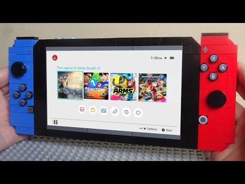 Lego Nintendo Switch MOC 2.0