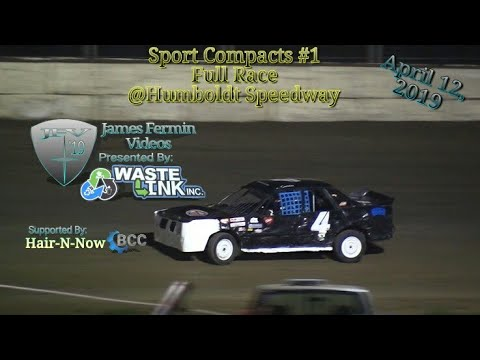 Sport Compacts #1, Full Race, Humboldt Speedway, 04/12/19