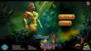 Hanuman Vs Mahiravana Gameplay HD