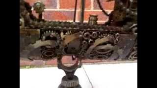 Galleon Ship Metal Art Productions Scrap Parts Sculpture