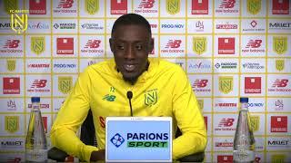 VIDEO: Dennis Appiah avant Stade Brestois - FC Nantes