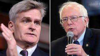 Republican Dodges Question & Smears Bernie To His Face