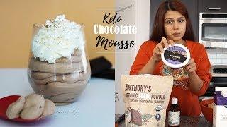 Keto Chocolate Mousse #DessertEveryNight