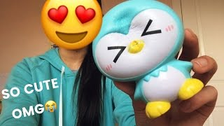 ADORABLE IBLOOM PENGUIN SQUISHY?! || sillysquishies package!