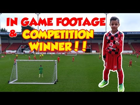 FOOTBALL FOOTAGE | PLAYING LIKE A PRO | ++ COMPETITION WINNE
