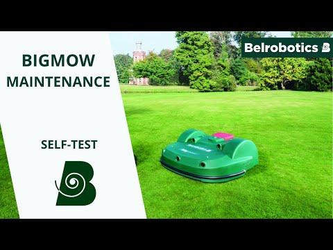 Belrobotics- Bigmow / Parcmow Connected Maintenance: Self-test