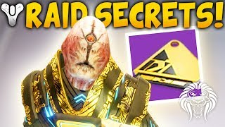 Destiny 2: huge raid secrets! solo to boss rooms, exotic puzzles, watcher stealth guide
