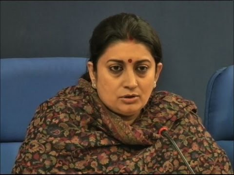 No MP, No national political organisation is named in Rohith's suicide note: Irani