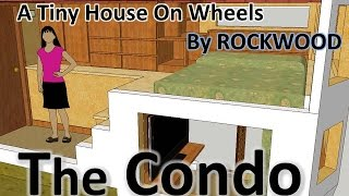 """the Condo"" A Tiny House, Master Bedroom, Queen Size Bed, Sketchup Design"