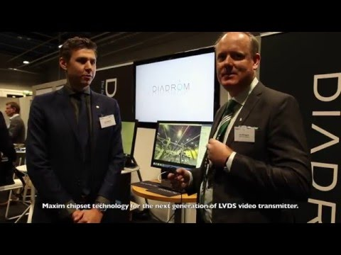 Diadrom shows camera development offerings at the conference Electronics in Vehicles