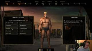 Let's play Tyranny - Part 1 - Character creation and conquest mode *Spoiler alert*
