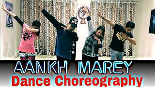 Simmbha || Aankh marey || Dance Cover || Esay Bollywood Dance ||  Choreography by ALLAUDIN .