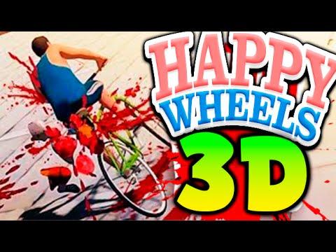 HAPPY WHEELS 3D ME CORTAN LA CABEZA !! Guts and Glory Makiman