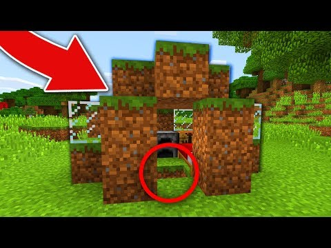 THIS IS NOT A NORMAL MINECRAFT DIRT HOUSE..