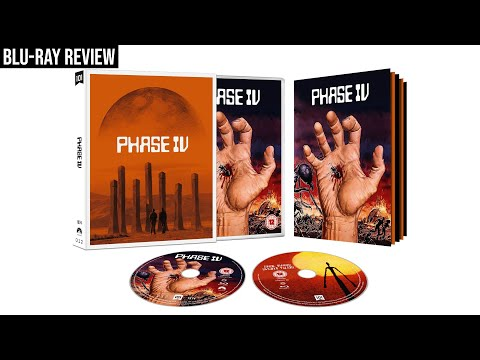 PHASE IV (Saul Bass) Blu-Ray Review (101 Films) // The Movie Vault