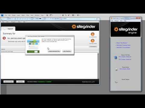Sitegrinderblue english youtube.