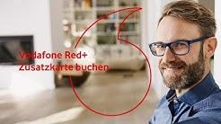 Vodafone Red+ - Zusatzkarte buchen  | #servicehilfe