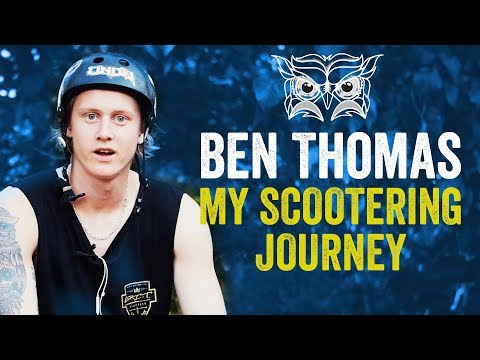 Ben Thomas Grit Scooters | Scootering Journey