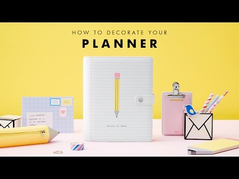 2016 Kikki-k Planner Setup