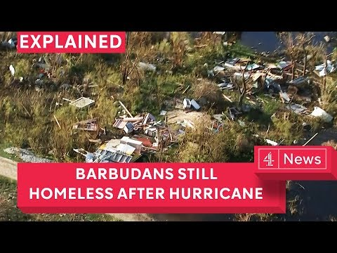 Barbuda: Islanders still homeless after hurricane; land bulldozed for airport