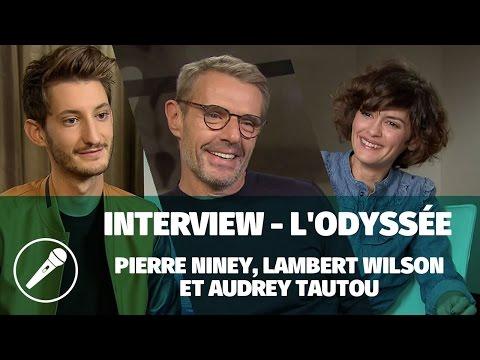 Pierre Niney, Lambert Wilson et Audrey Tautou parlent de « L'Odyssée »