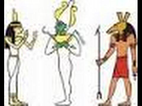 Isis, Seth and Osiris