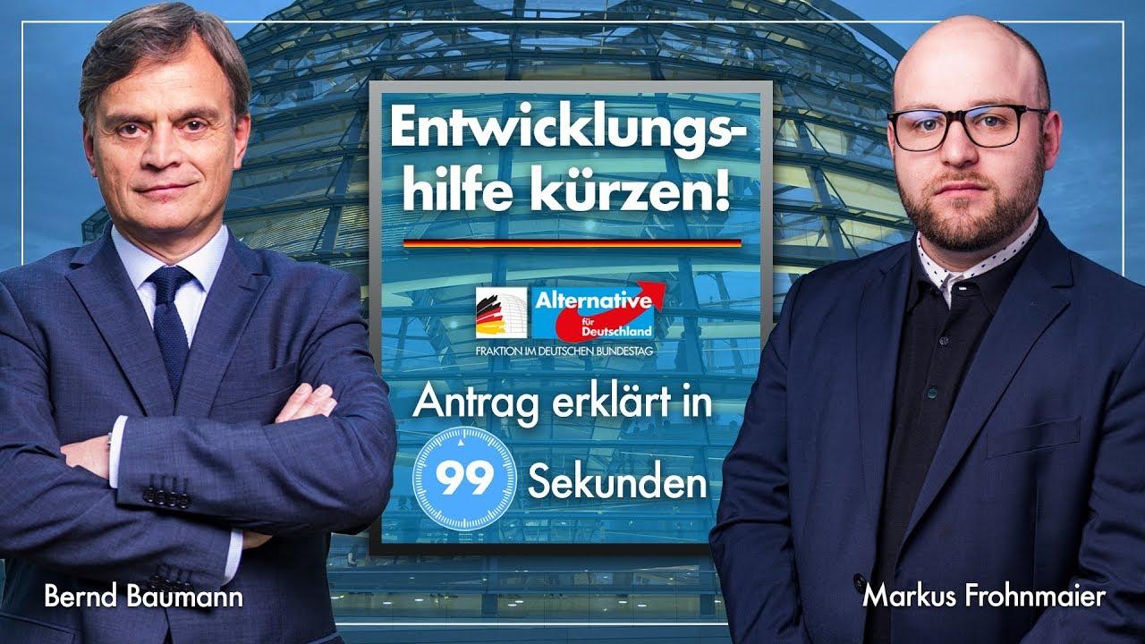 AfD: Schluss mit weltweiter Verteilung deutscher Steuergelder!