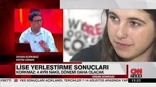CNN Türk ekranlarında LGS sonuçlarını değerlendirdik.