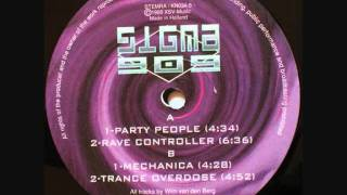 Sigma 909 - Rave Controller