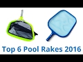 default - Swimline Professional Heavy Duty Deep-Bag Pool Rake, Blue