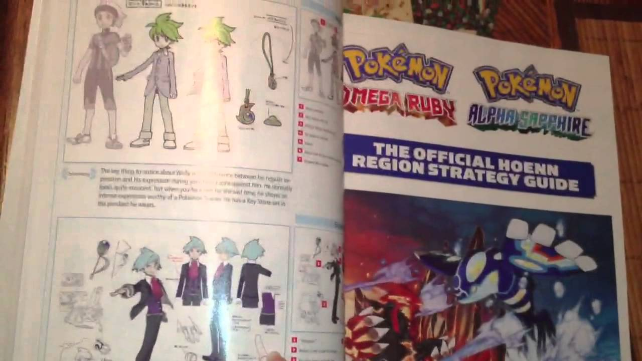 Pokemon Omega Ruby Guide Book
