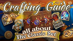 All About the Classic Hearthstone Cards Set: Crafting and Collecting Guide.