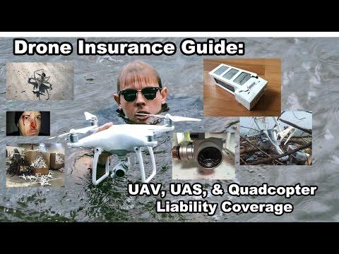 Insurance Guide: Rc Drone  UAV, UAS, & Quadcopter Liability Coverage