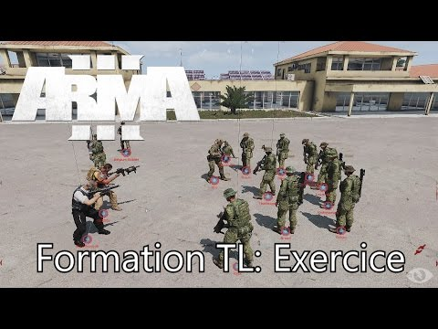 "Arma 3 Tutoriel: ""Formation Team Leader"""