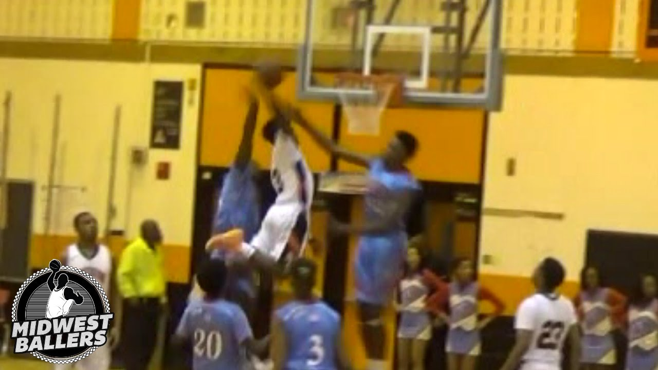 finest selection ea183 0e558 5'5 Melvin Lee RISES UP And Dunks Over Two Defenders!!! Dunk Of The Year  Nominee