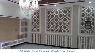 10 Marla House for sale in Wapda Town Lahore at Jydad.com