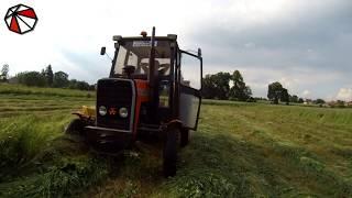 Sianokosy 2018 - automatyczne prowadzenie - nawigacja rolnicza