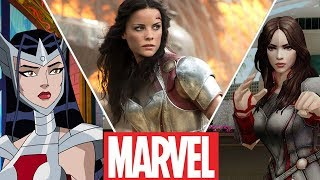 lady sif evolution in moviescartoonsgames and tv 2018
