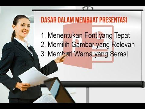 30 Tips Panduan Dasar dalam Membuat Presentasi PowerPoint yang Baik