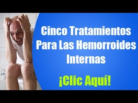 remedios naturales para curar las hemorroides internas