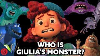 Who Is Giulia's Monster?   Pixar Theory