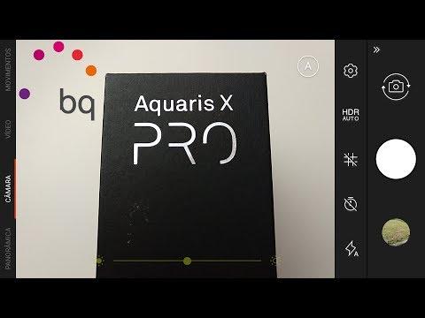 Câmara em teste - BQ Aquaris X PRO