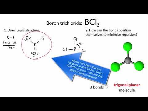 Using Vsepr To Determine Molecular Shape Bcl3 Intermolecular Forces Meristem Youtube