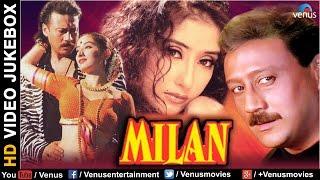 Video Milan - HD Songs | Jackie Shroff | Manisha Koirala | VIDEO JUKEBOX - Best Bollywood Songs download MP3, 3GP, MP4, WEBM, AVI, FLV Agustus 2018