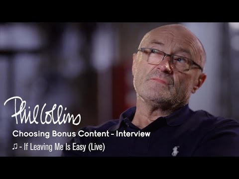 Phil Collins: Choosing Bonus Content (Interview)
