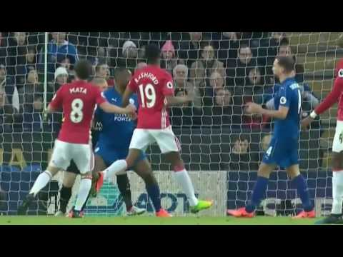 Leicester City vs Manchester United 0--3 All Goals and Highlights  05/02/2017