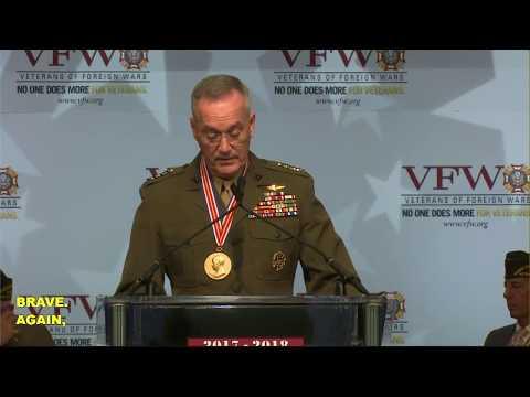 VFW Eisenhower Award Presentation and remarks by Gen. Joe Dunford