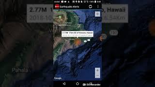 Volcano, Hawaii Earthquake October 17th, 2018
